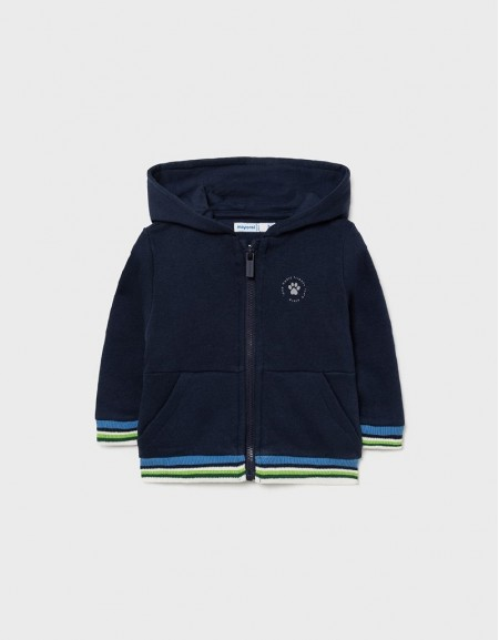 Blue Fleece Cat Sweatshirt