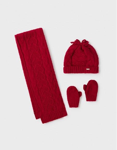 Red Hat-Scarf Set