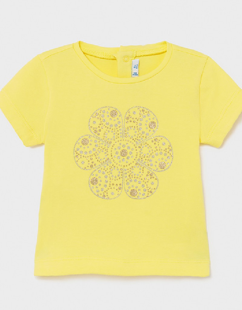 Yellow Ecofriends Basic T-Shirt