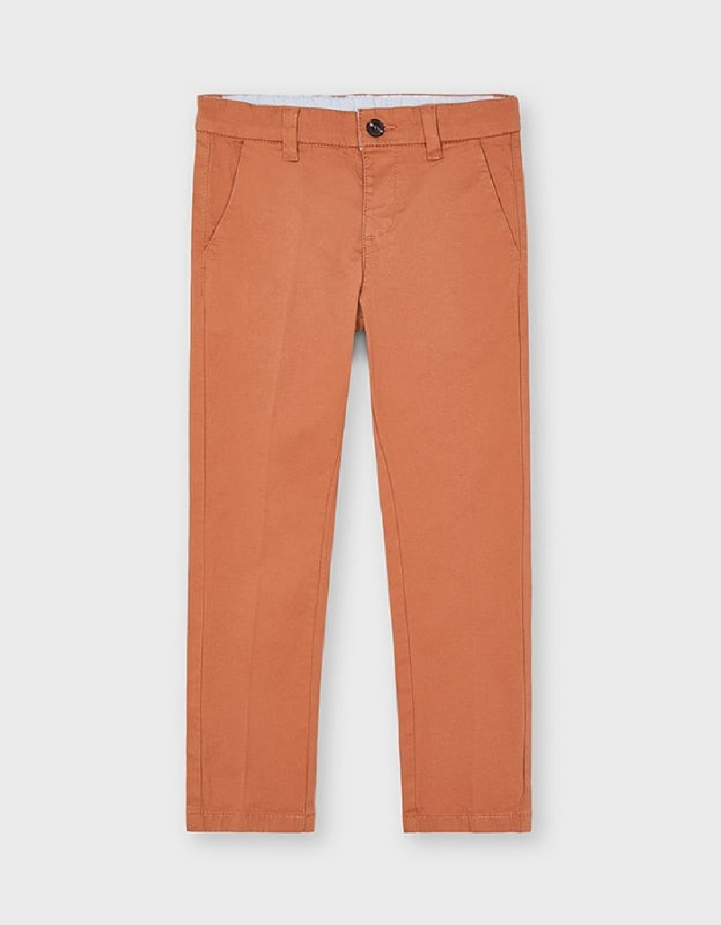 Clay Twill Basic Trousers