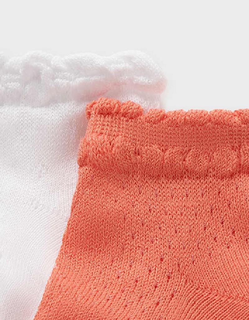 Sorbet Set Of 2 Newborn Girl Socks