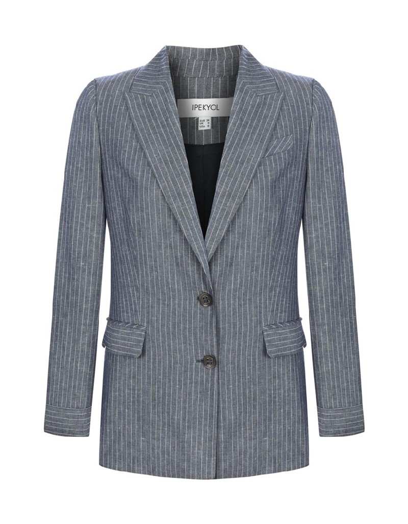 Navy Striped Jacket