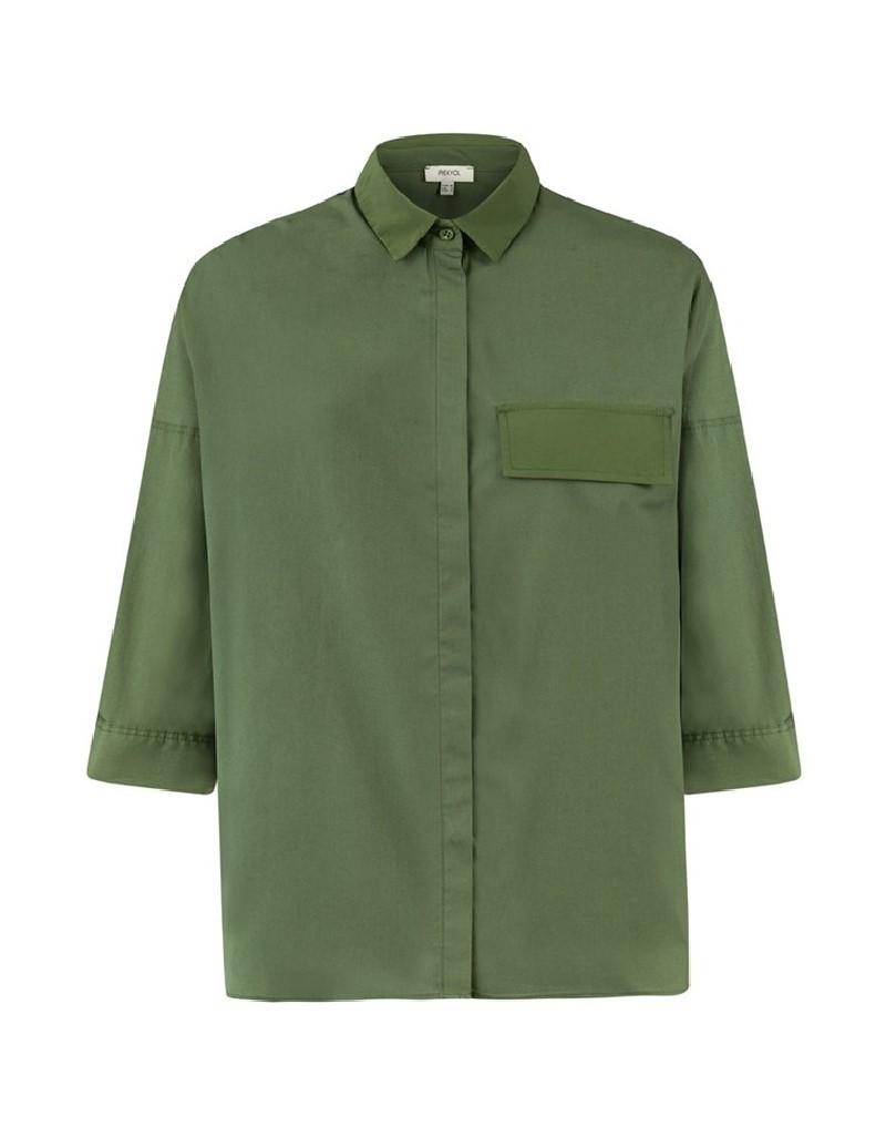 Khaki Safari Shirt