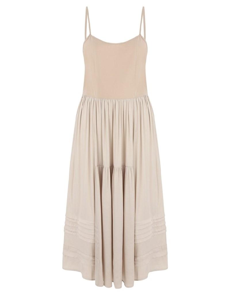 Oil Double Piece Dress