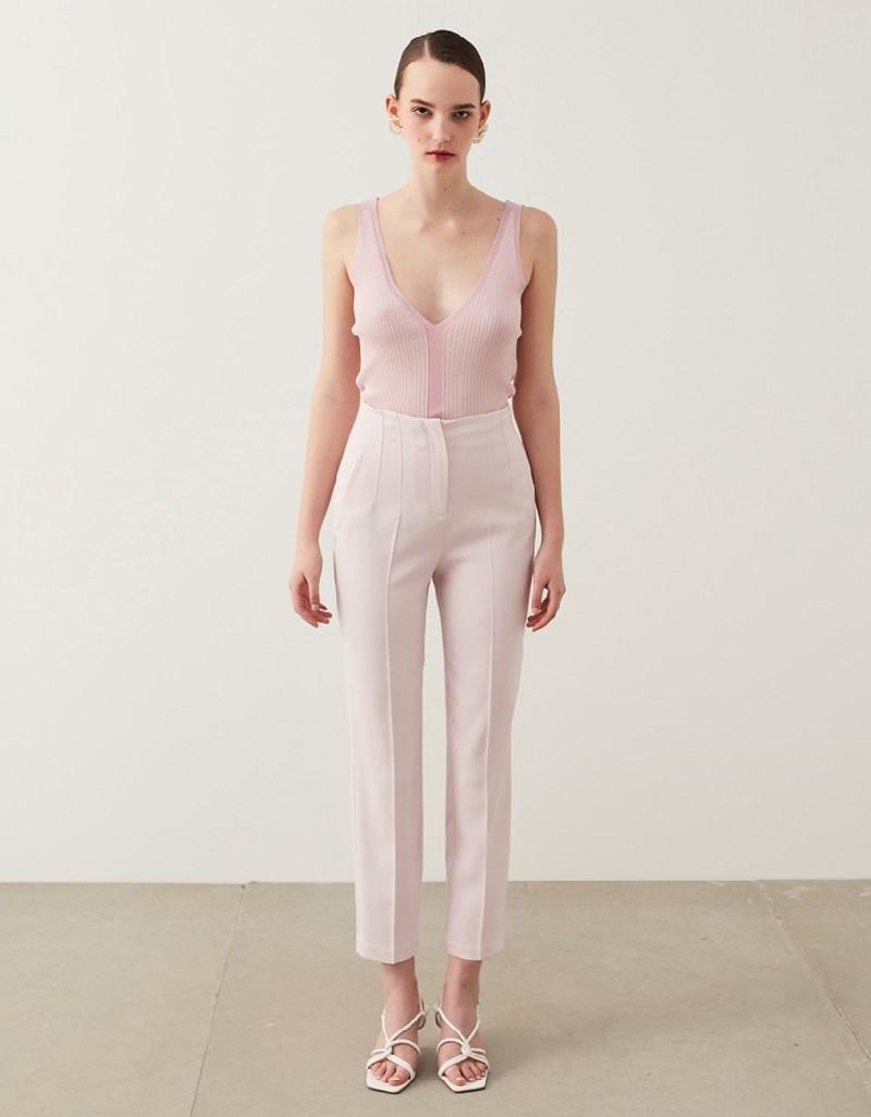 Pink High Waist Pants