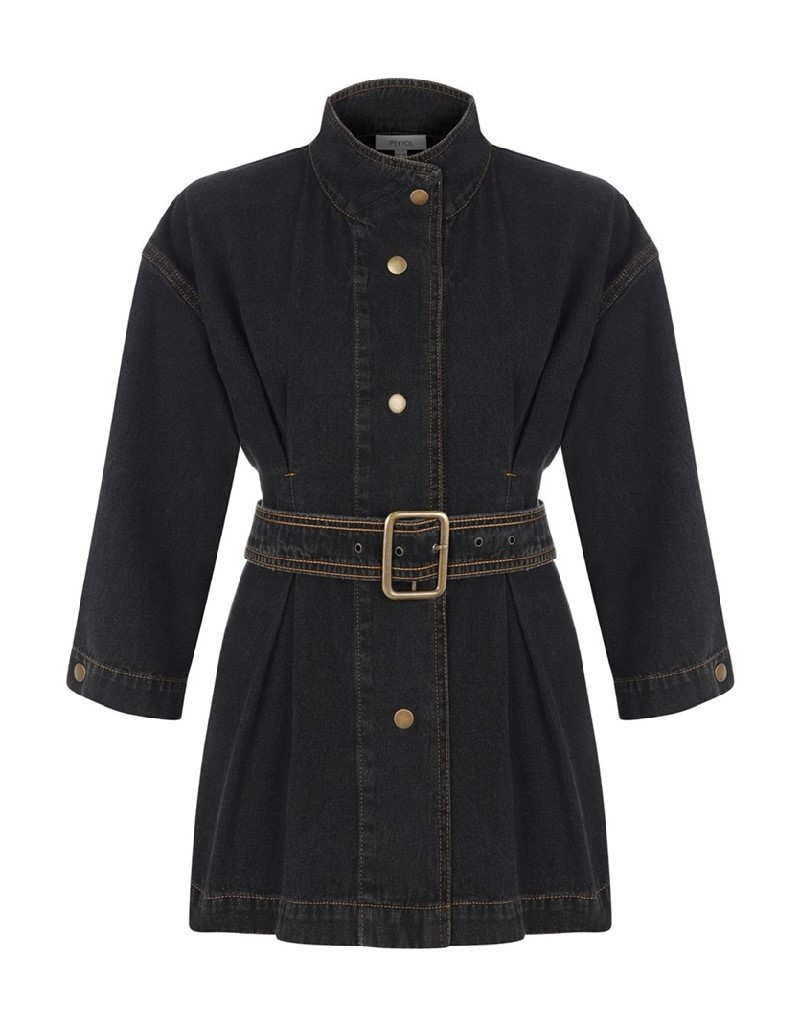 Anthracite Denim Jacket