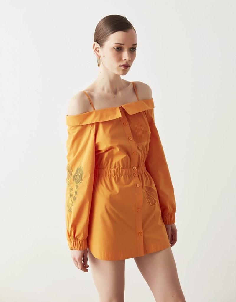 Orange Tunic