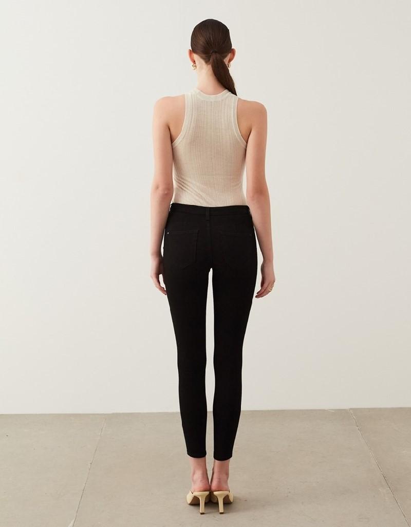 Black 360 Skinny Jeans