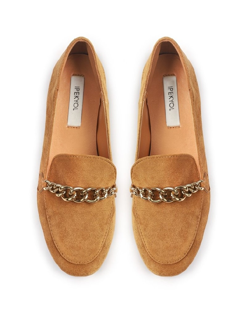 Camel Camel Flat Shoes