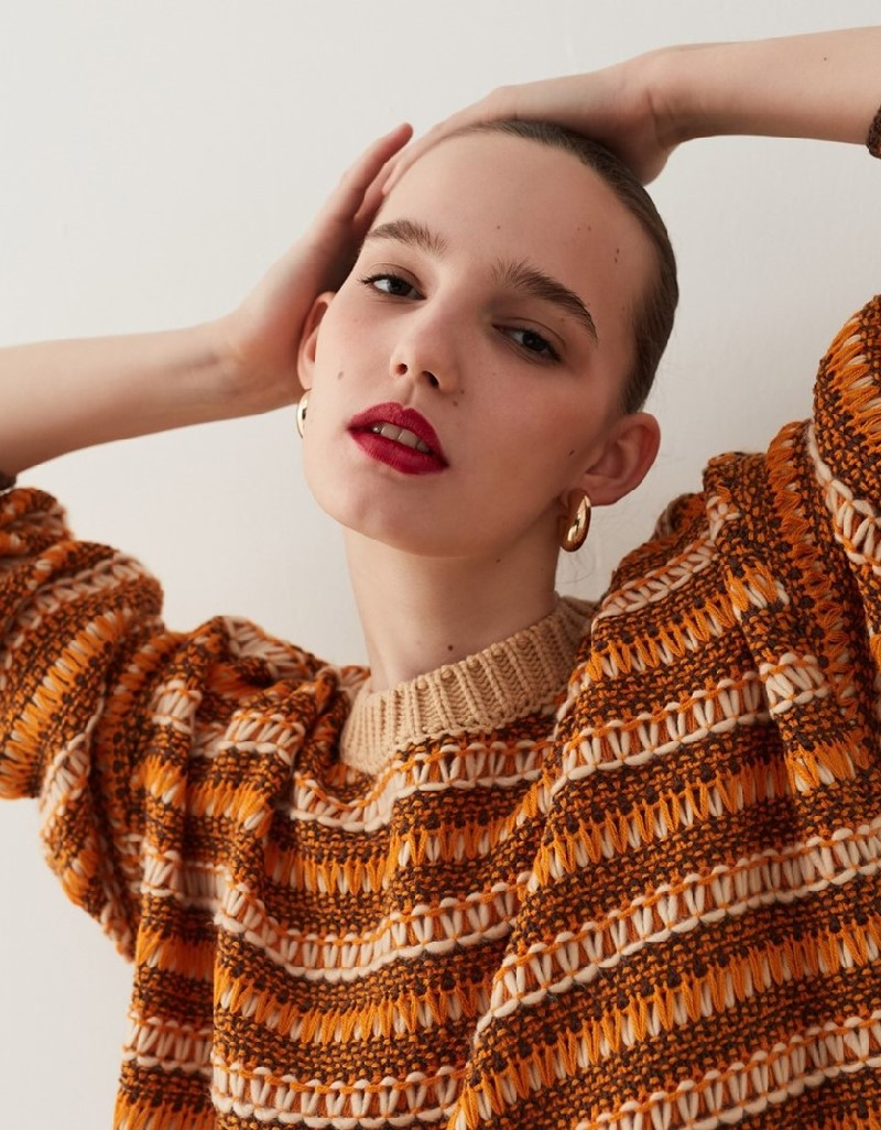 Natural Oversized Knitwear