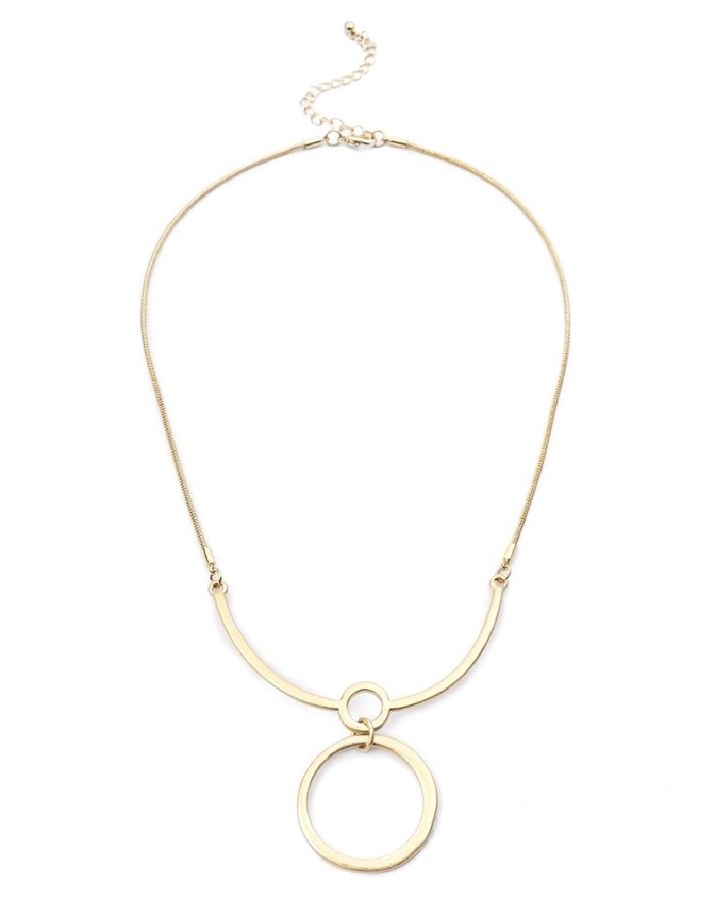 Gold Ring Pendant