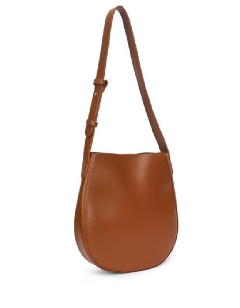 Brown Adjustable Sling Sleeve Bag