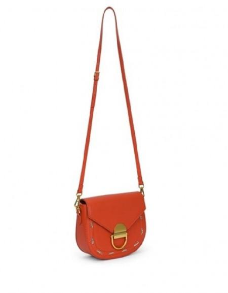 Orange Chain Pass Sleeve Bag