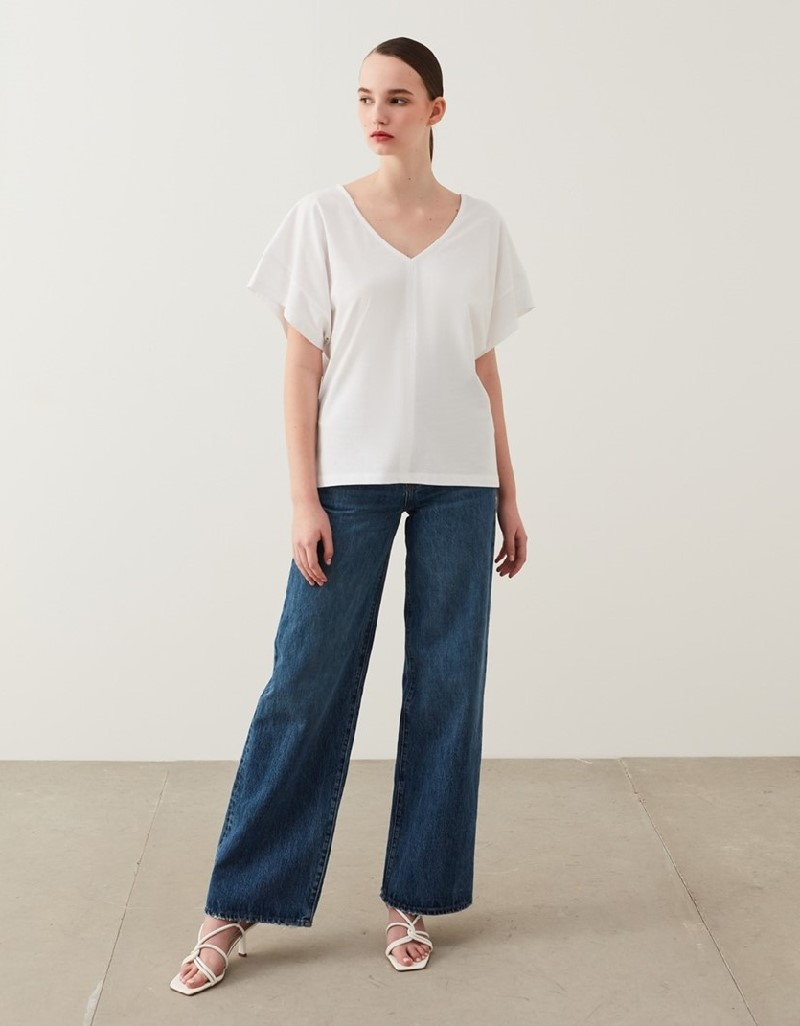 Off White Oversize T-Shirt