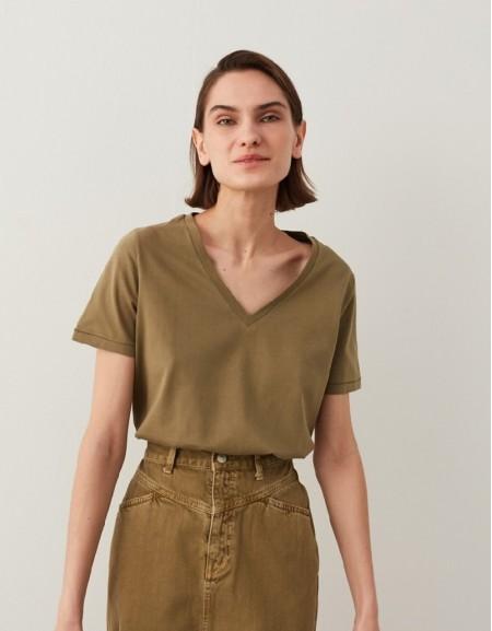 Khaki Basic T-Shirt