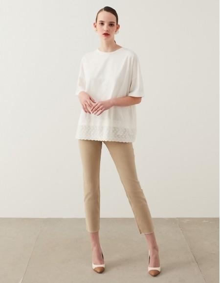 White Fisto Mix T-Shirt