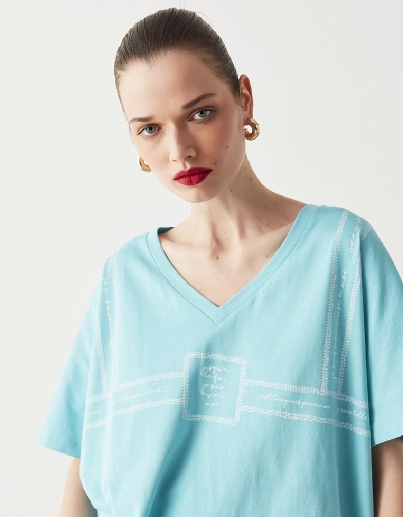 Turquaz Oversize T-Shirt