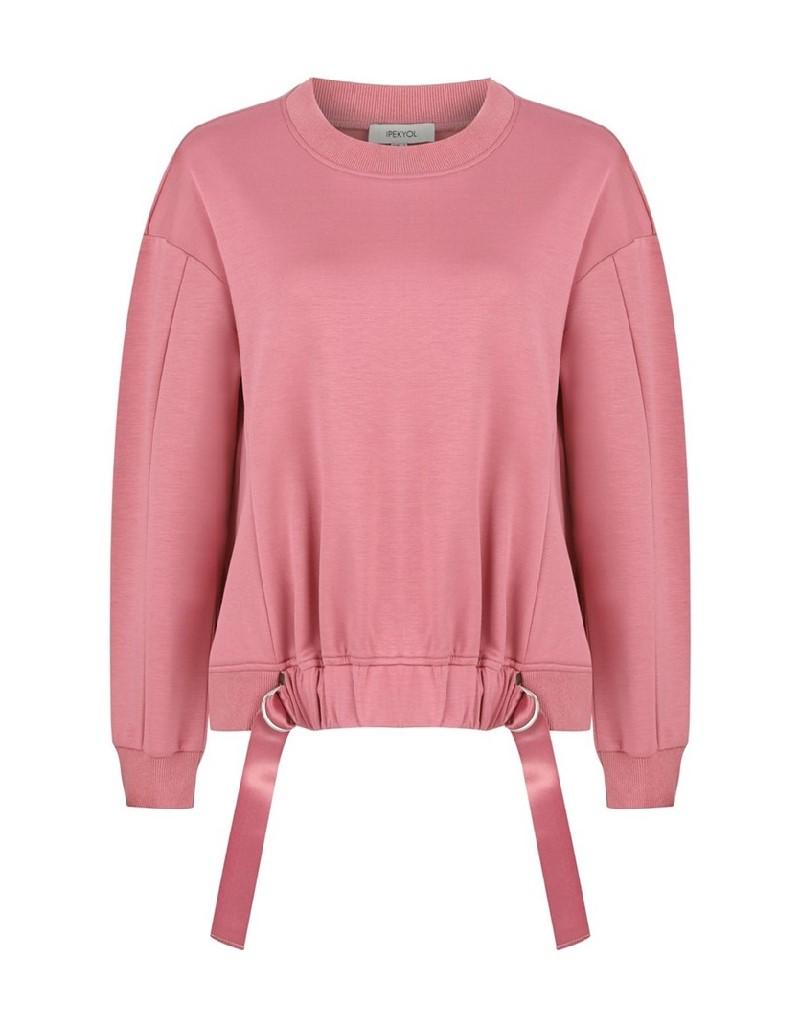 Old Rose Oversize Sweatshirt