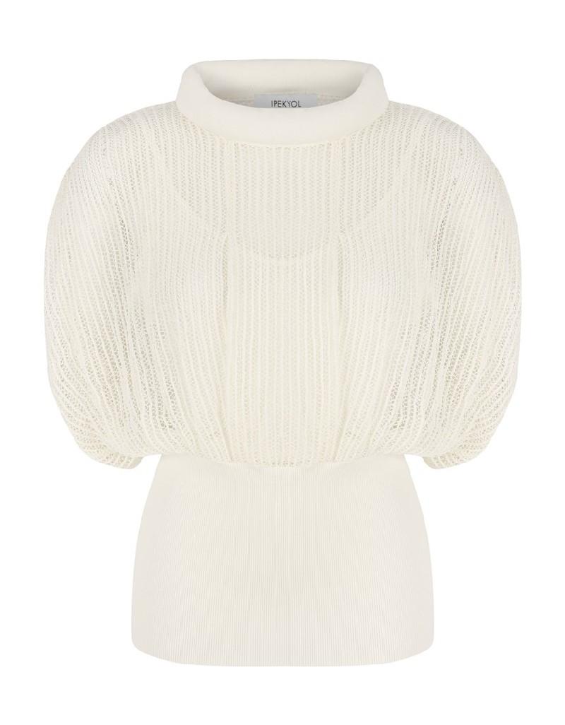 Cream Dantel Knitwear