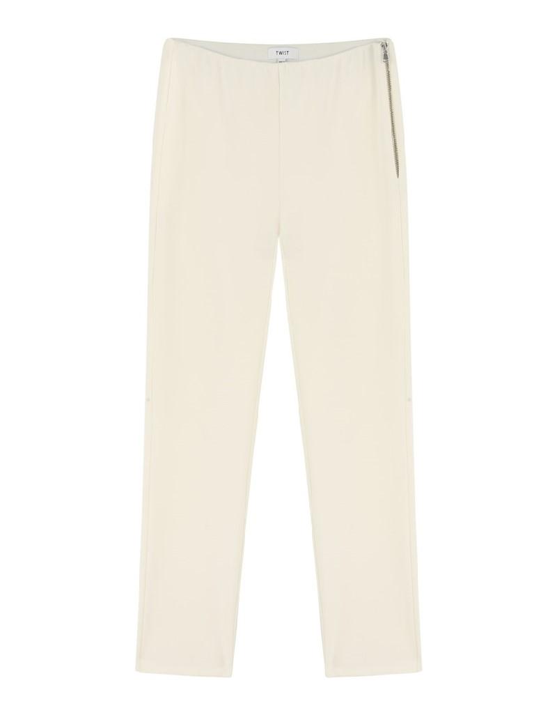 Cream High Waist Pants