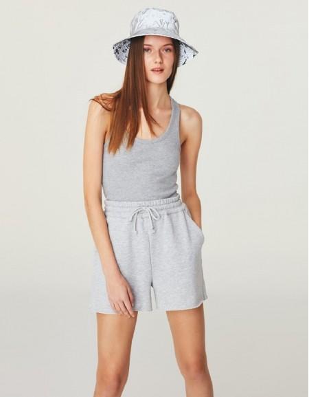 Grey Mlg Jogging Shorts