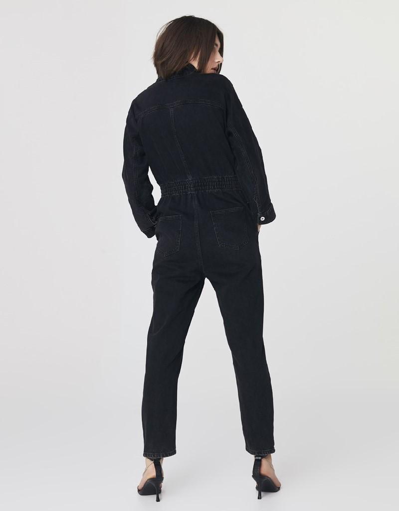 Anthracite Jeans Jumpsuit