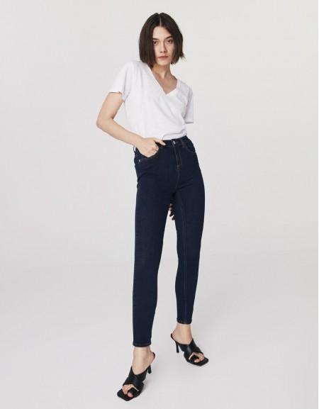 Indigo Skinny Jeans Pants
