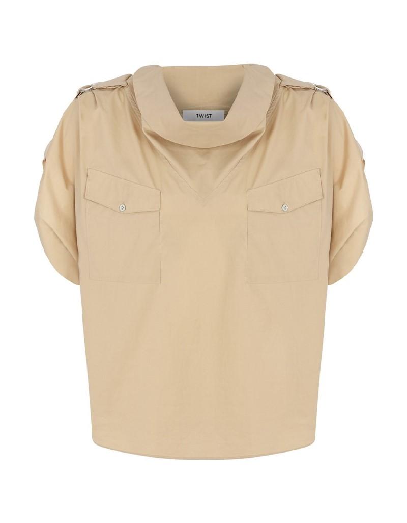 Beige Safari Shirt