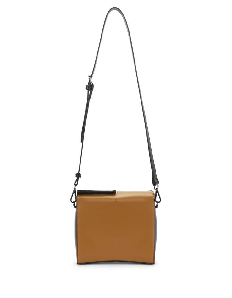 Brown Color Transition Sleeve Bag