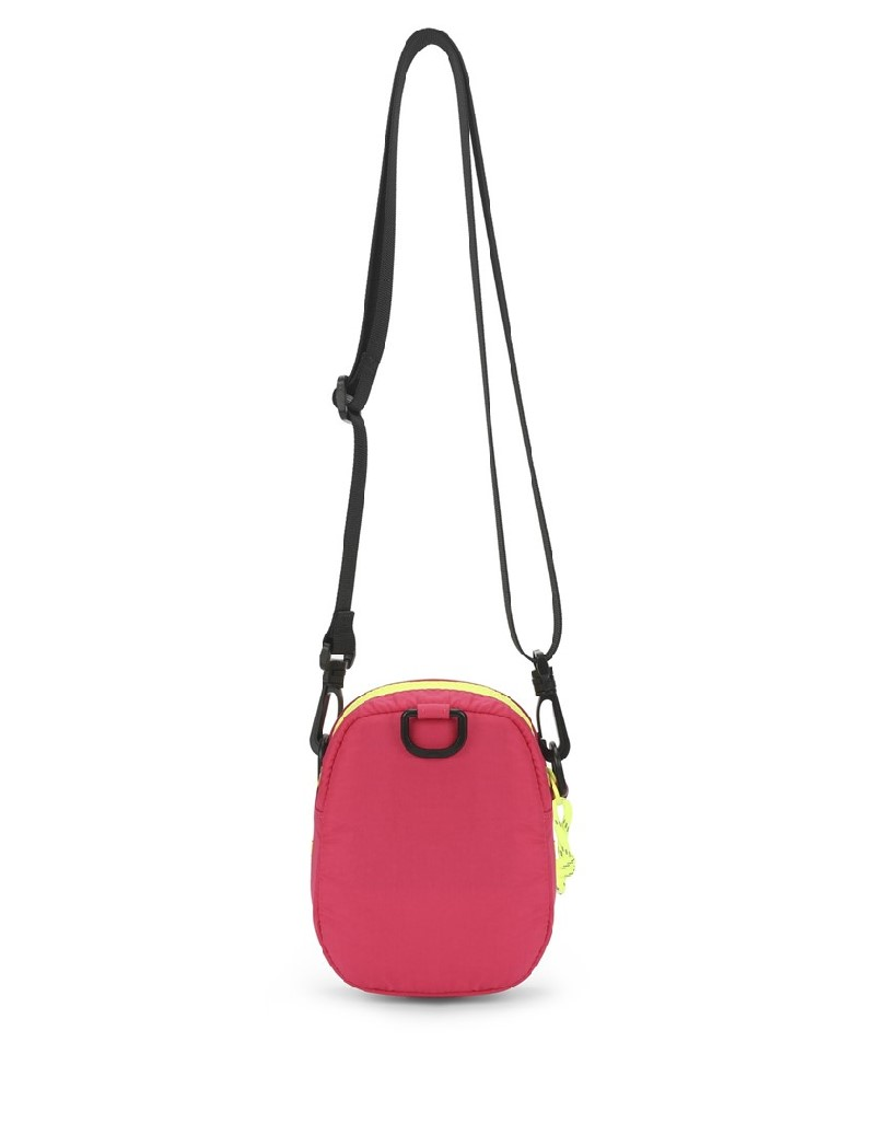 Pink Color Transition Sleeve Bag