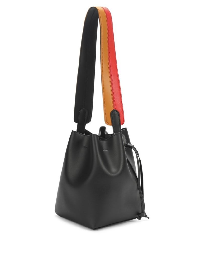 Black Color Transition Drawstring Bag