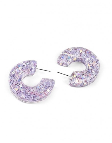 Lilac Earring