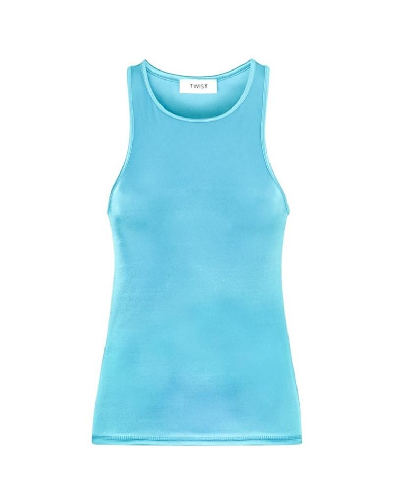 Blue Weightlifting Athlete