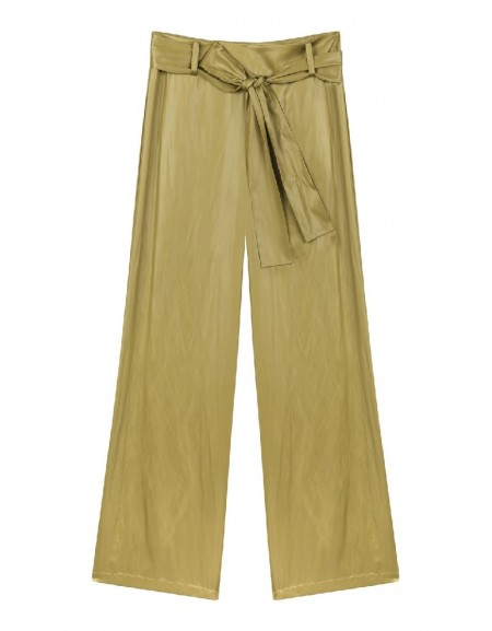 Bronze Bow tie loose trousers