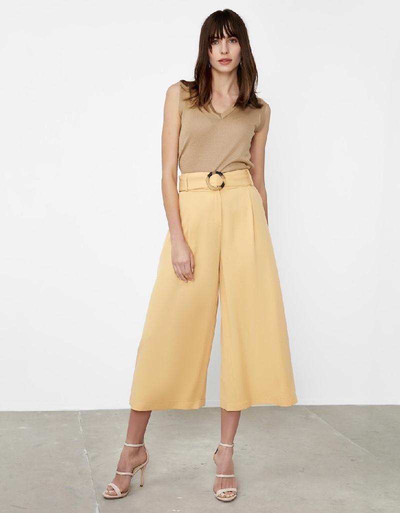 Melon Culotte pants