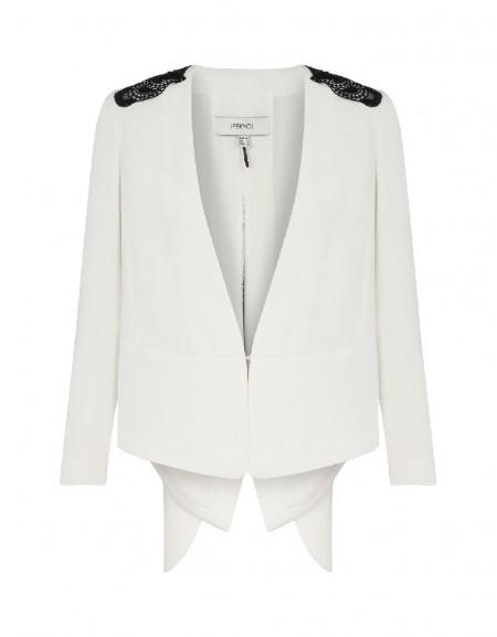Ecru Angelic wing blazer
