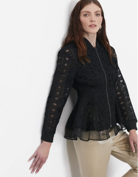 Black Guipure jacket