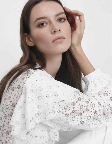 Ecru Lace blouse