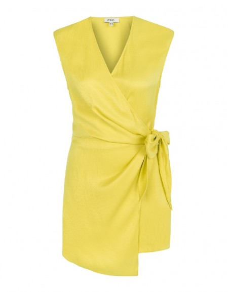 Yellow Wrap vest