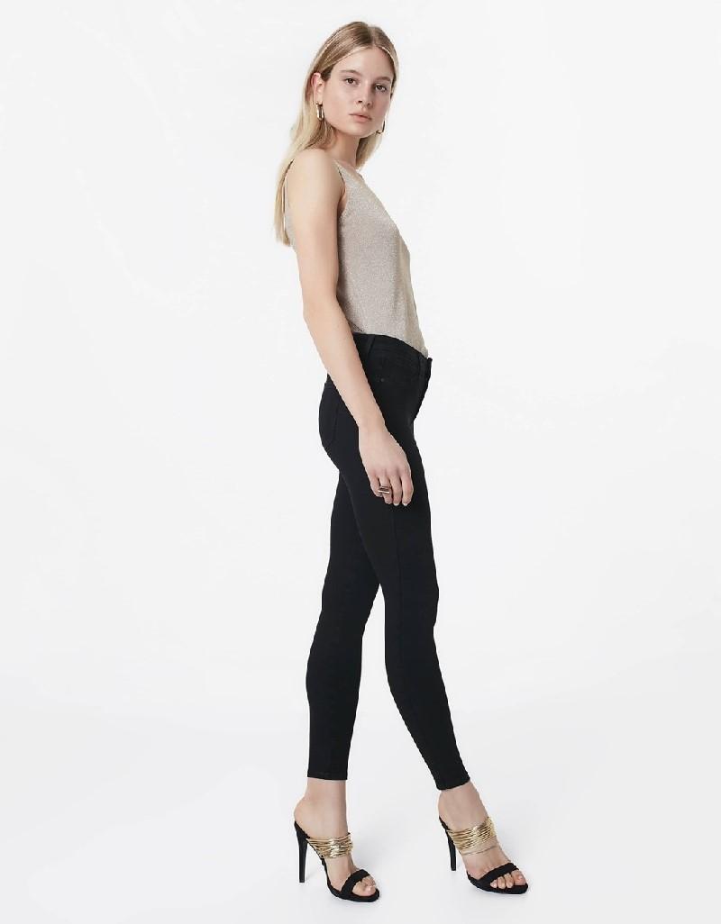 Black 360 skinny fit jeans