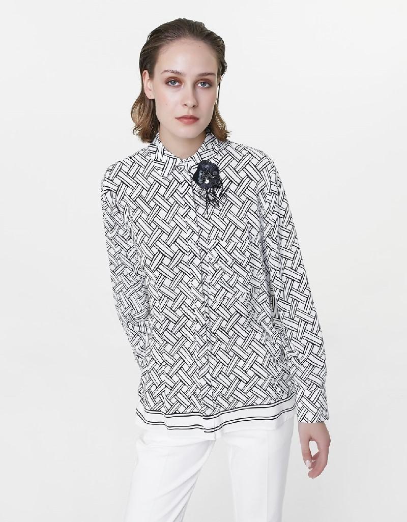Black Collar accessory shirt