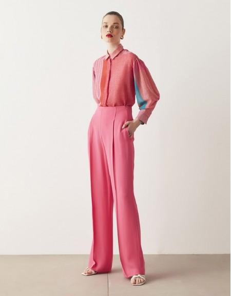 Pink Pattern Transition Shirt