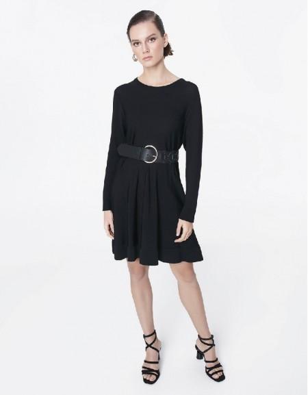 Black Tricot dress