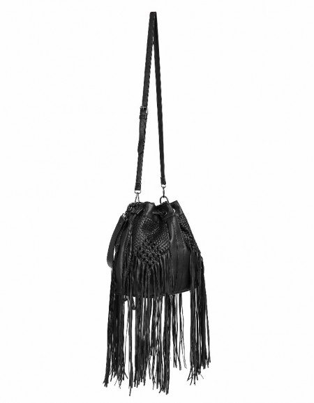 Black Tasseled bag