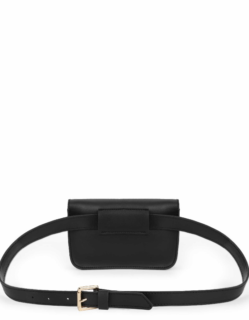 Black Chain strap waist back
