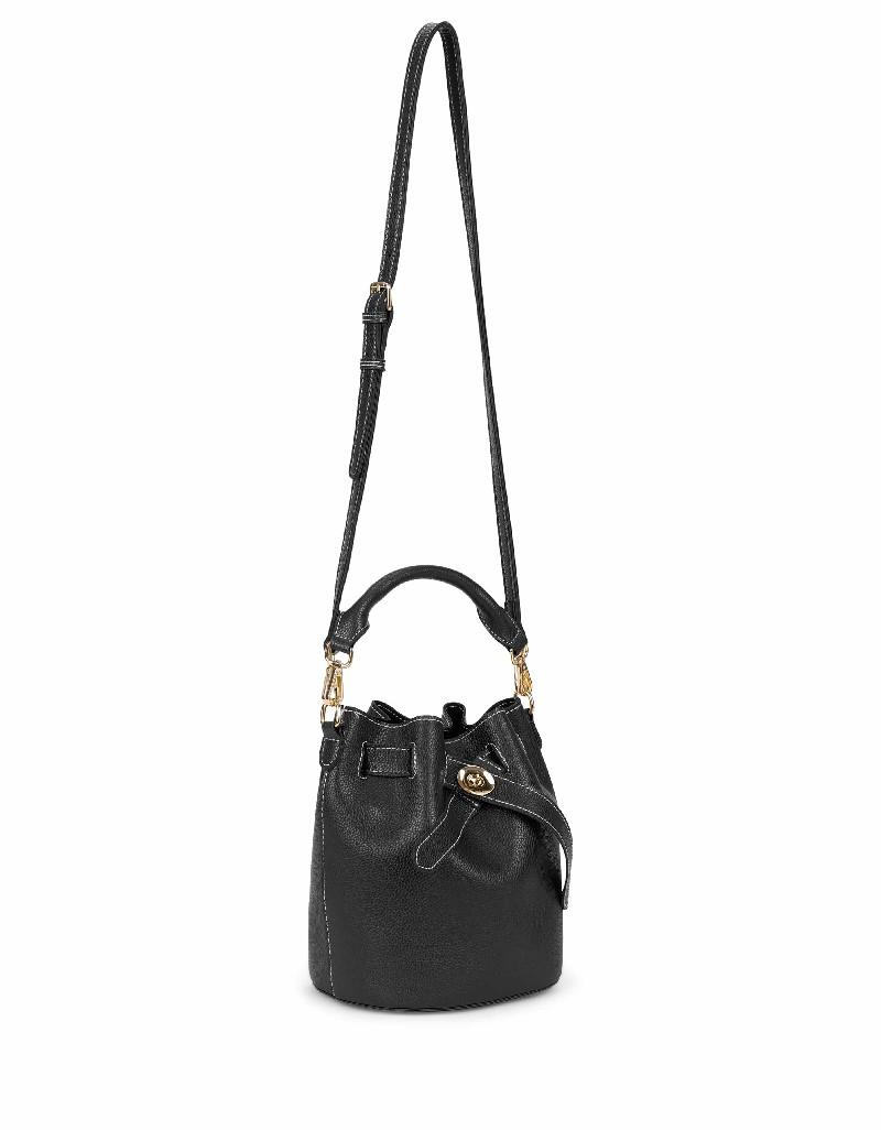 Black Closure detailed bag