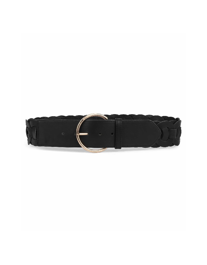 Black Multi-part belt