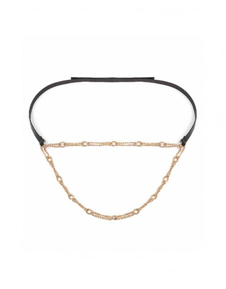 Black Chain accessory belt