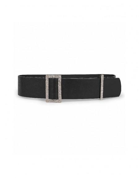 Black Stone buckle belt