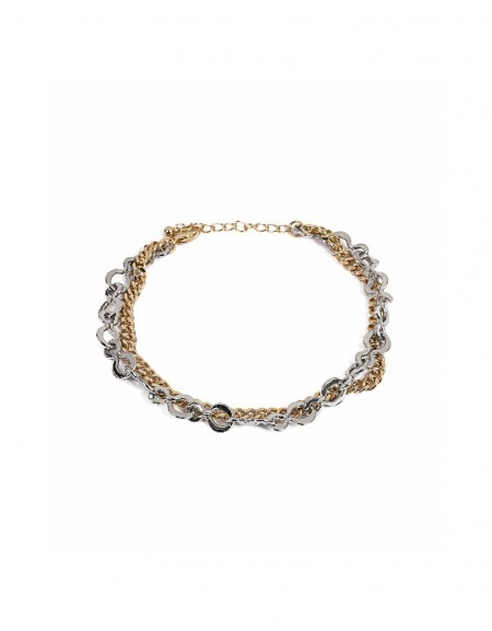 Gold Multiple chain anklet